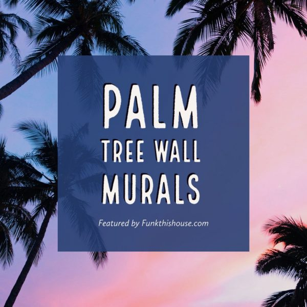 Palm Tree Wall Murals