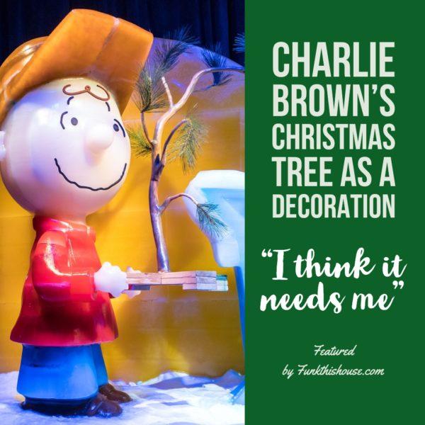 Charlie Brown Christmas Tree Decoration