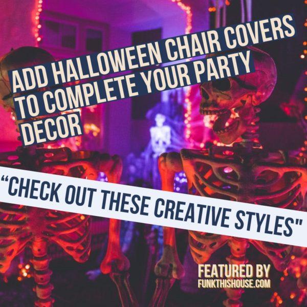 Halloween Chair Covers