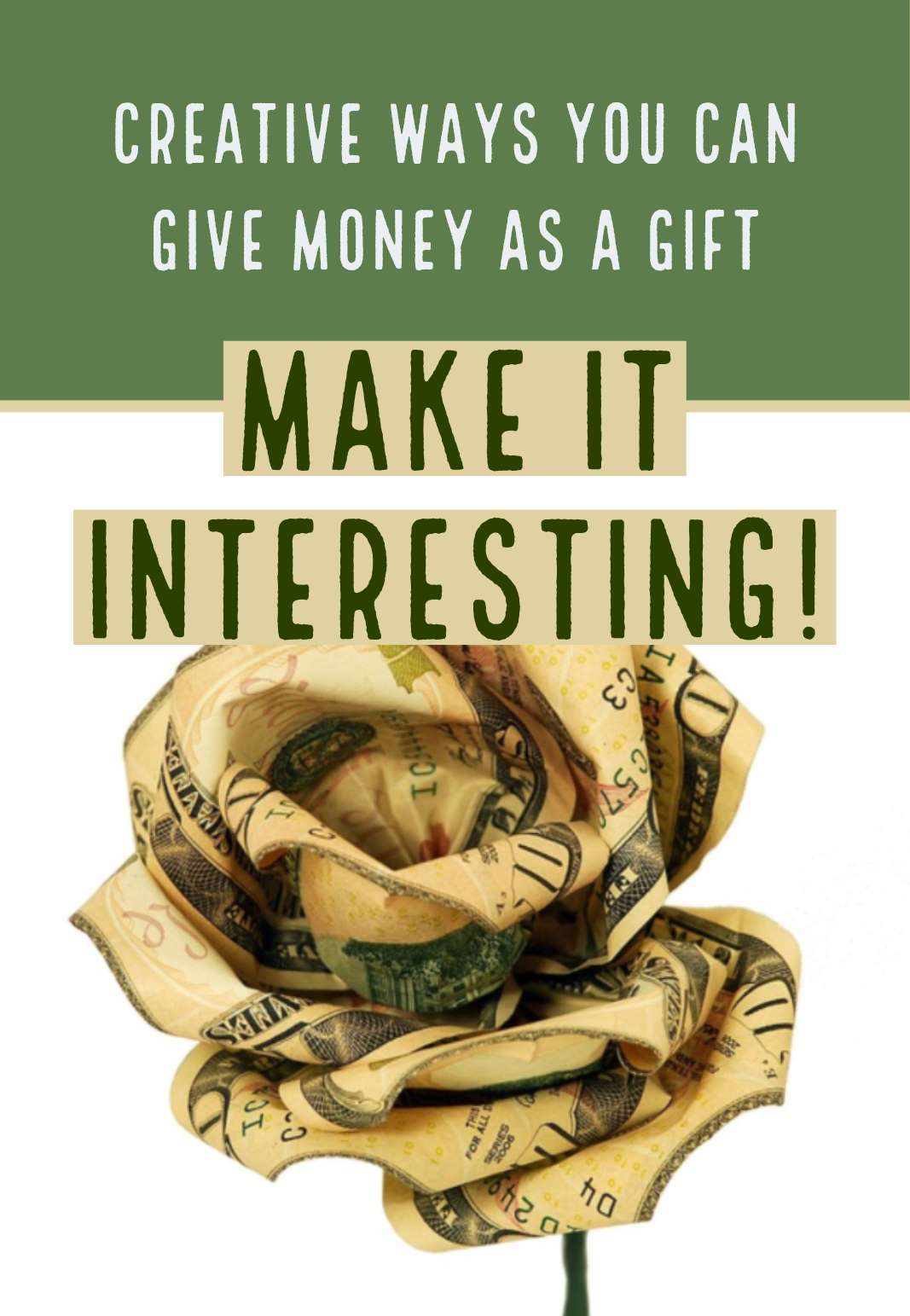 Original Ways You Can Give Money as a Gift