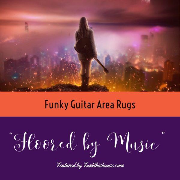 Guitar Area Rugs