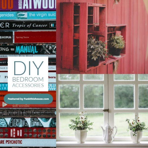 DIY Bedroom Accessories - How to decorate your bedroom with no money
