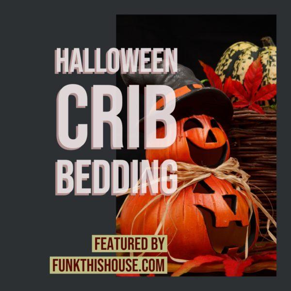 Halloween Crib Bedding Sets