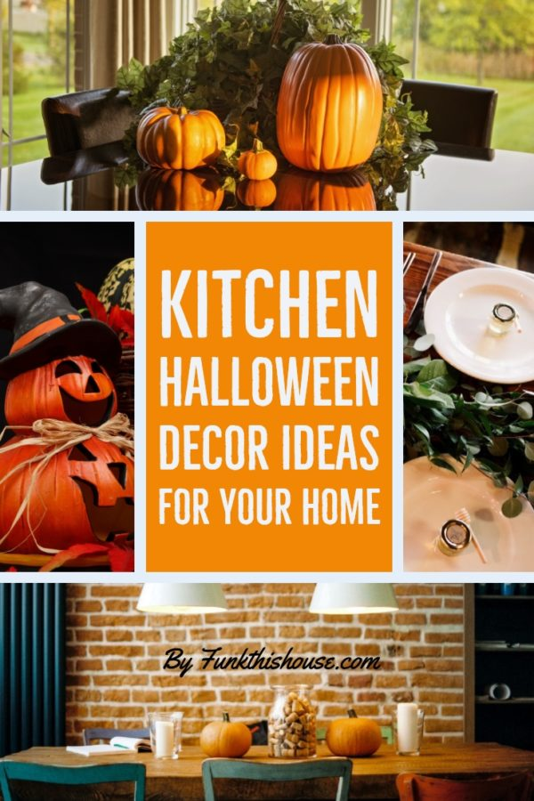 Halloween Decor Ideas for the Kitchen