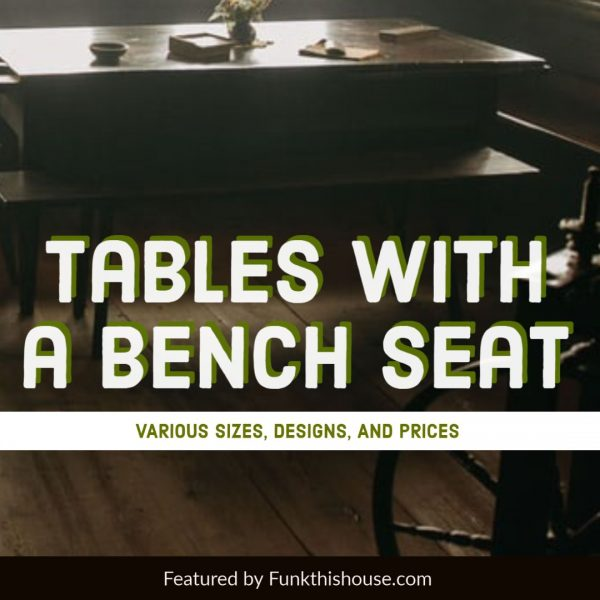 Bench Table Sets