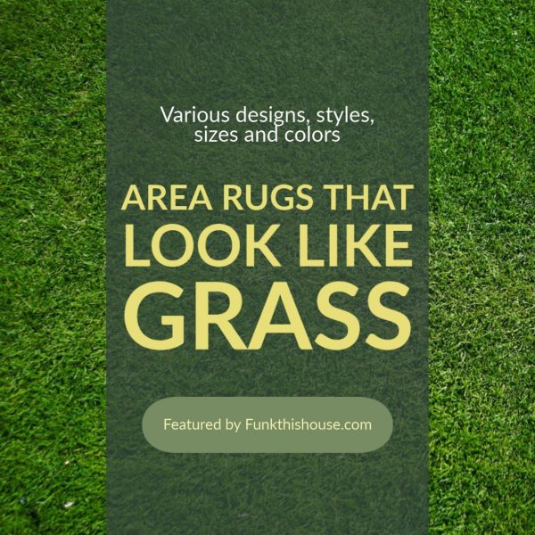 Area Rugs that Look Like Grass
