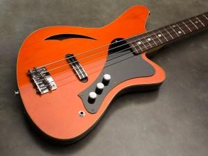 Sirena Modelo Uno Bass in transparent orange
