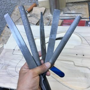Files for carving wood