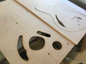 Laser-cut body templates