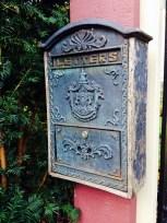 An old mailbox