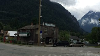 Typical older building in Hope, BC