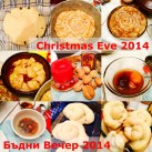 All vegan traditional Bulgarian Christmas Eve dinner