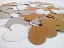 Heart confetti die cuts