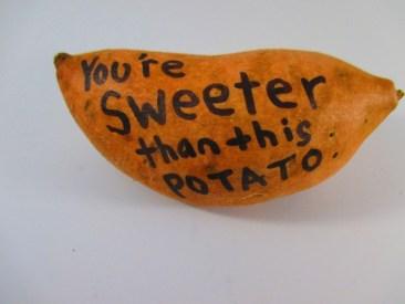 Photo of Sweet Potato Gram - You're Sweeter than This Potato