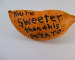Photo of Sweet Potato Gram - You're Sweeter than This Potato