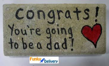 Congrats - You're going to be a dad BRICK