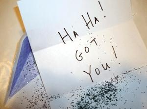 Custom Glitter Letter