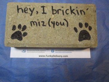 I Brickin Miz You - Send a Brick for Fun