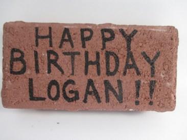 Brick in the Mail - Happy Birthday Brick