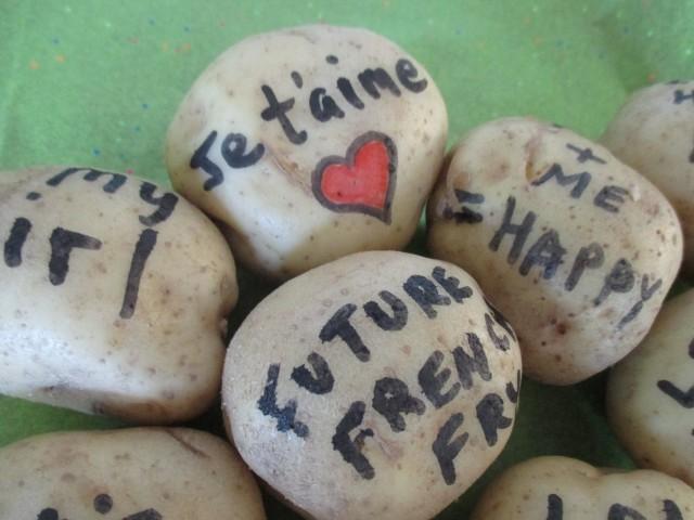 Potato Bouquet Potatoes