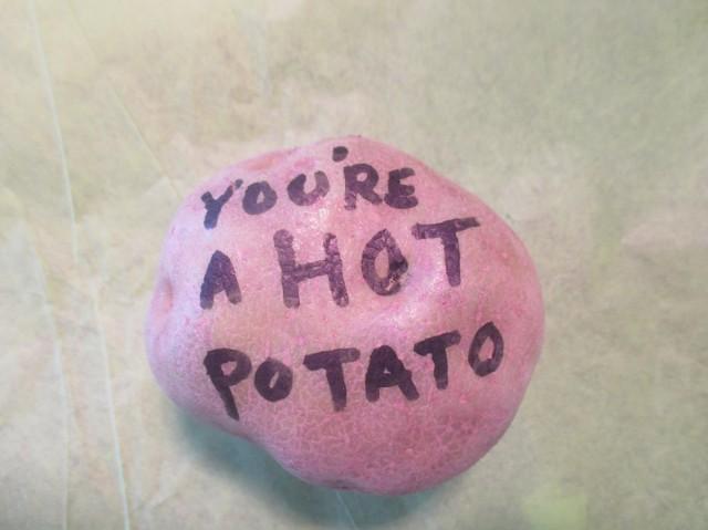 Best Island Beaches For Partying Mykonos St Barts: Valentine's Day Potato Bouquet