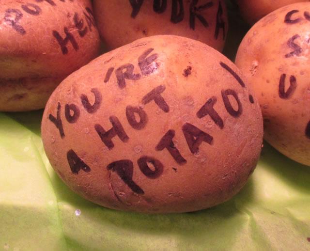 You're a Hot Potato - Mail a Potato Parcel