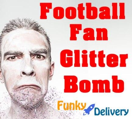 Football Glitter Bomb
