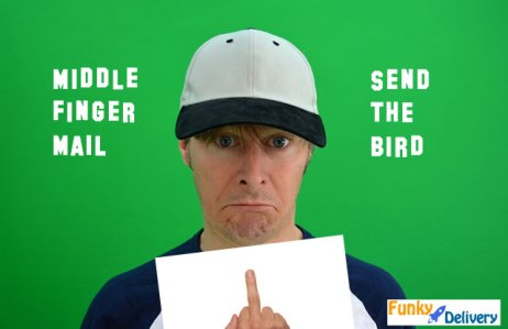 Middle Finger Mail - Send the Bird by Mail