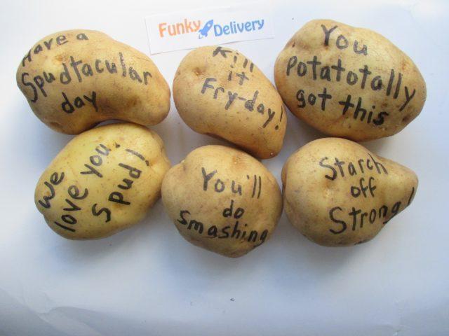 Half a Potato Bouquet - Send One Today