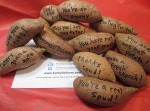 Sweet Potato Bouquet - Send Sweet Potato Messages