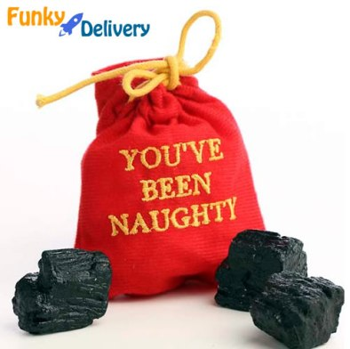 Bag of Coal for Christmas