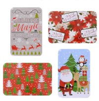 Christmas Candy Gift Tin Selection - Funky Delivery