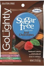 Go Lightly Just Chocolate Sugar-Free Hard Candy