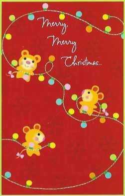 Merry Merry Christmas and Many Many Bright Tomorrows Christmas Card
