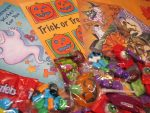 Happy Halloween Coffing Candy Box Gift with Fun Card