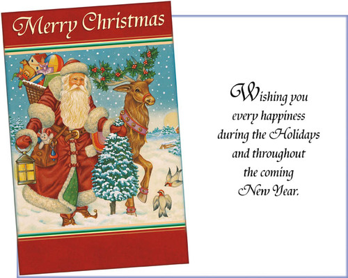Old-European-Santa-Christmas-Card