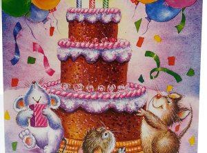 Happy Birthday Pop Up Card
