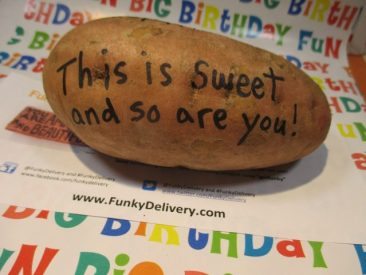 This is sweet and so are you potato - Funky Delivery Brick