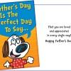 Fun Father's Day Card - Glitter or Confetti Card