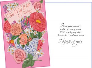 For My Wife on Valentine's Day - I love you so much and in so many ways. I Treasure You - Valentine Card