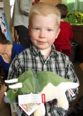 Alex in 2012, age 4
