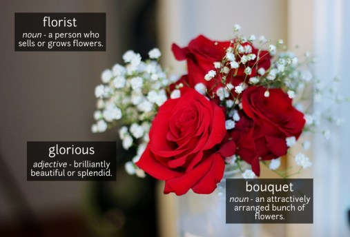 bouquet vocabulary