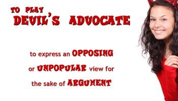 devils advocate
