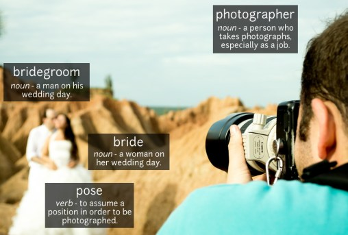 wedding vocabulary