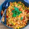 Spaanse rijst met chorizo en kip