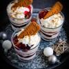 Recept voor kerstdessert Lotus mascarpone trifle met kersen