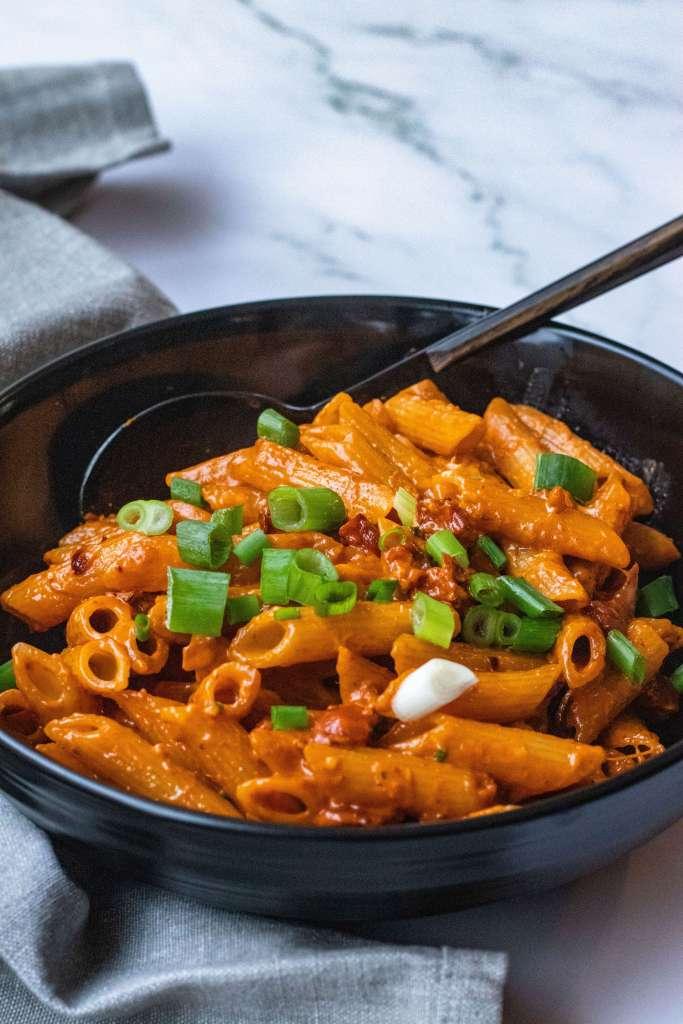 Recept voor pasta met chorizo