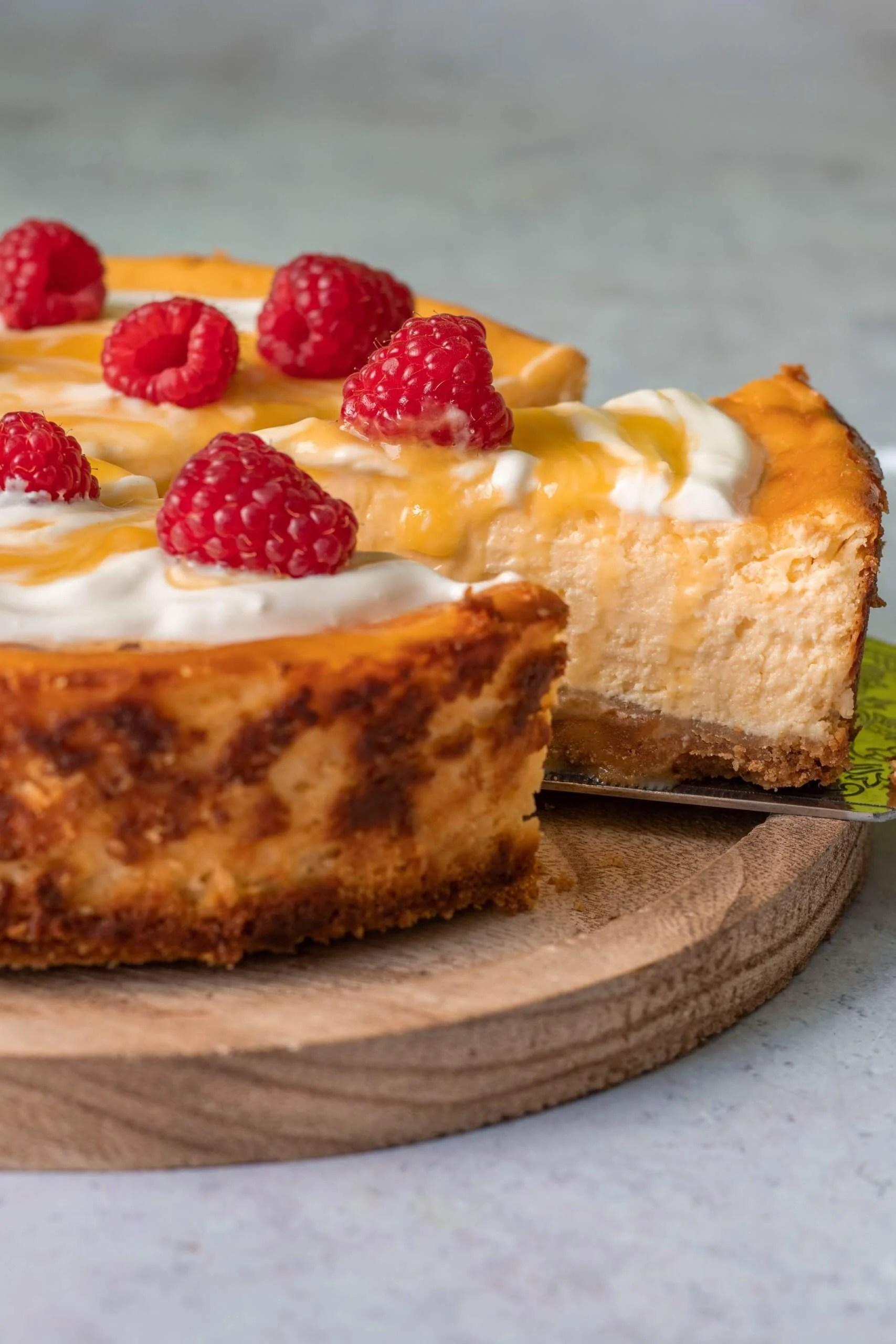Citroen cheesecake