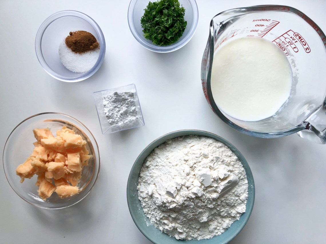 Lobster-Butter Biscuits Ingredients