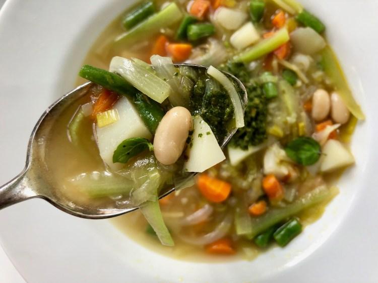 Cucuzza Pesto Soup 4